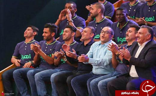 قهرمان لیگ برتر با جامش به خندوانه آمد/  ماندگاری ویسی در تیم استقلال خوزستان