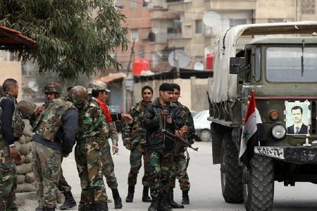 آزادسازی 13 شهرک و روستا در غوطه شرقی دمشق