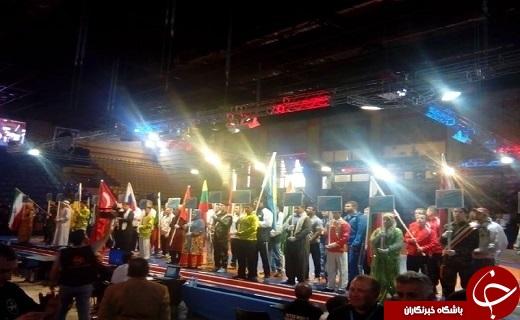 سجادی نظاره گر دیدار تیم های ایران و ترکیه + عکس