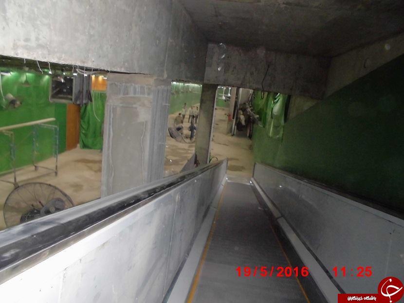 عکسهای دیده نشده از نصب ضریح در سرداب امام زمان (عج)