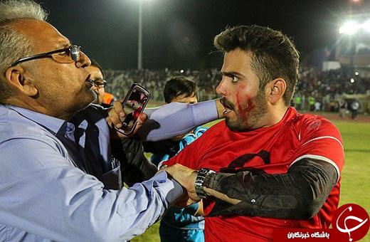 این دیدار خونین ترین بازی لیگ برتر را رقم زد+تصاویر