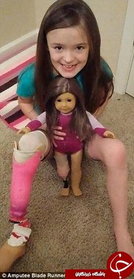 عروسک دختر بچه ساخته شد + تصاویر