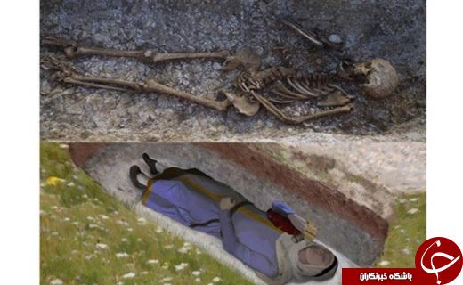 کشف گورستان عجیب در انگلستان + تصاویر