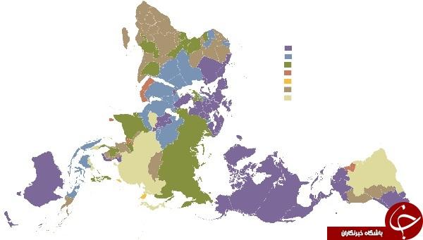ترویج بیدینی در غرب/ اروپاییها پرچمدار کفر و خداستیزی+ نقشه