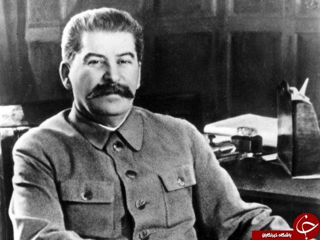 چرچیل و استالین در کنار هم+ عکس