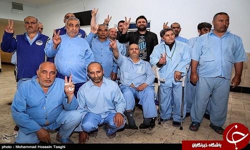 خواننده پاپ در آسایشگاه جانبازان مشهد