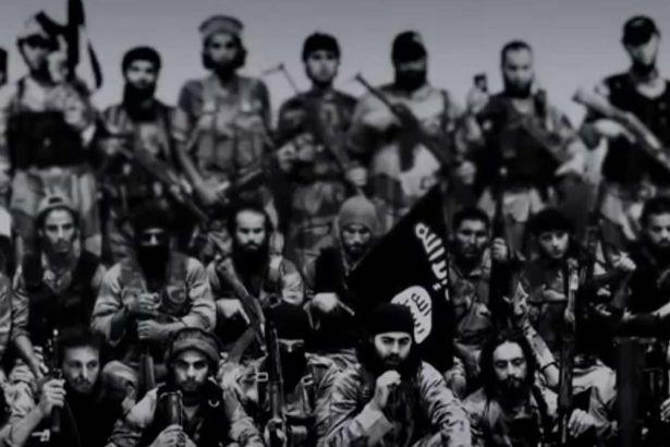 گروه سرود داعش تقدیم میکند/ مرگ مجازات نپیوستن به تروریستها+ تصاویر