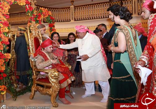 عروسی 10 میلیون یورویی (+عکس)