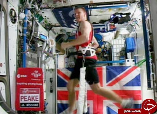 رکورد جهانی ماراتن در فضا