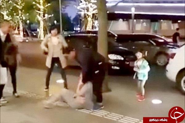 مردی که زنش را به باد کتک گرفت + فیلم