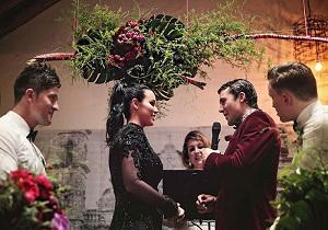 سنت شکنی عروس خانم استرالیایی+تصاویر
