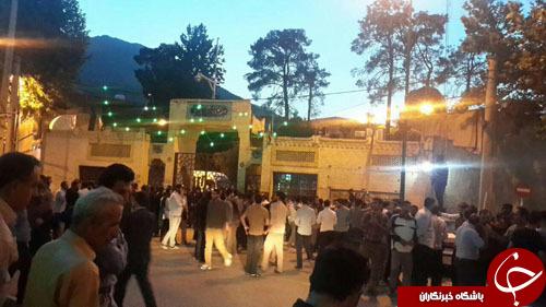 استقبال از فائزه هاشمی با شعارهای تند+تصاویر