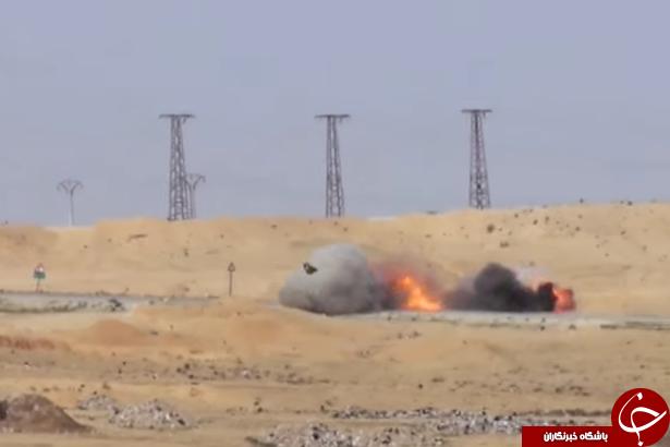 لحظه وحشتناک حمله داعش به نیروهای کُرد، همانند