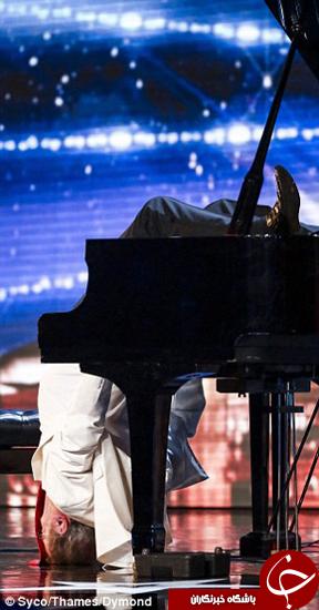 حرکت دیدنی پیانیست معروف 13 میلیون بار به اشتراک گذاشته شد + تصاویر