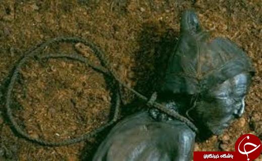 کشف مومیایی به دار آویخته متعلق به عصرآهن +عکس