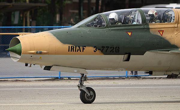 سقوط هواپیمای جنگنده F7 در حوالی شهرستان نائین