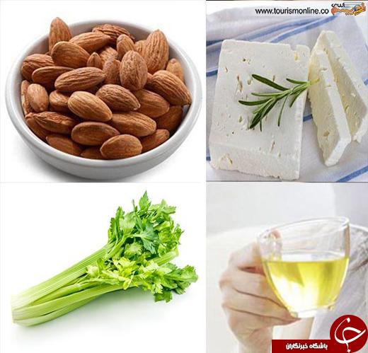 مواد غذایی مضر و مفید برای دندانها +تصاویر