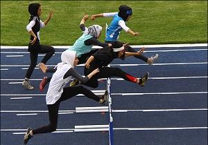 اختتامیه رقابتهای دومیدانی دختران ناشنوای کشور در اردبیل