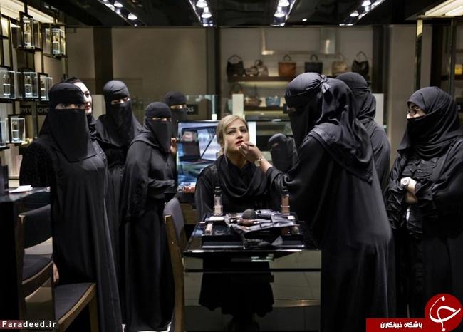 عکس/ پیدا و پنهان وضعیت زنان در عربستان سعودی