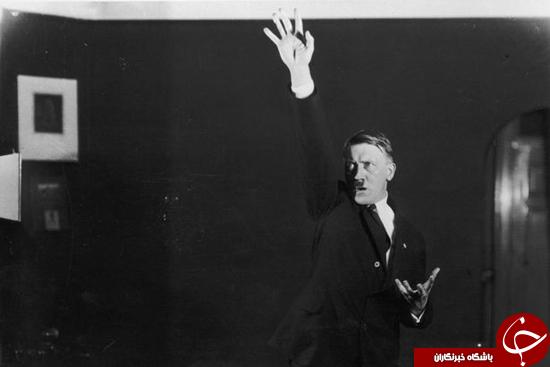 عکسهایی از هیتلر که دیده نشدهاند