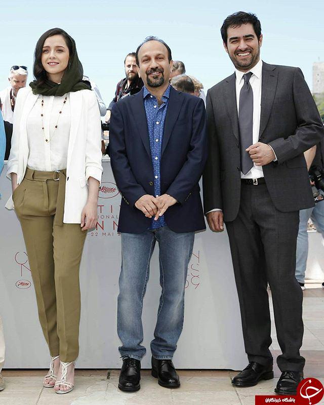 عکس هایی از تیپ خاص ترانه علی دوستی در جشنواره کن