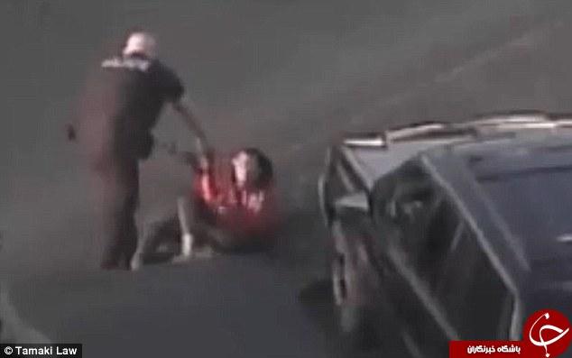 افسر پلیس دختر 15 ساله را مورد ضرب و شتم قرار داد/ به باد کتک گرفت