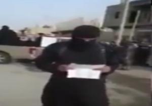 شلاق زدن یک زن به دست جلاد گروهک تکفیری صهیونیستی داعش + فیلم