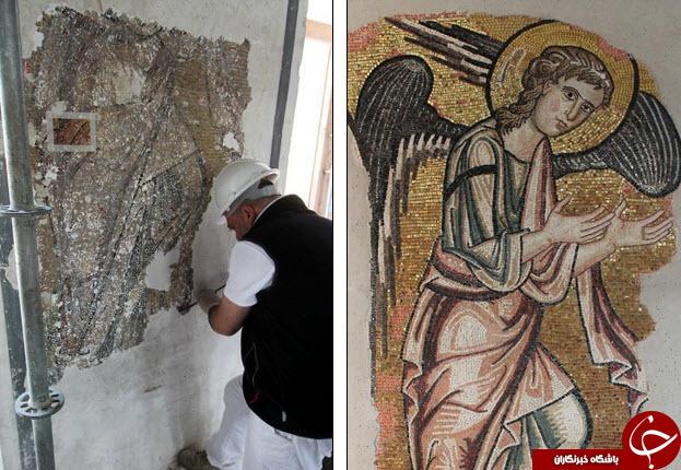 دیده شدن یک فرشته در زادگاه حضرت عیسی (ع)+تصاویر