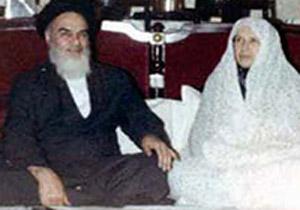 ماجرای ازدواج امام خمینی(ره)از زبان عروس ایشان