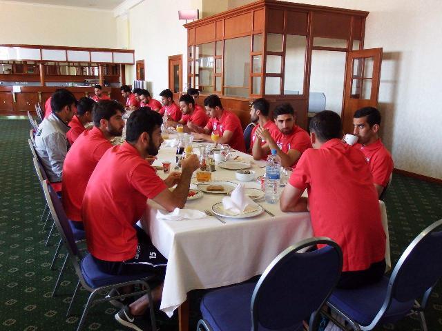 اولین تمرین تیم ملی در مقدونیه برگزار شد + عکس