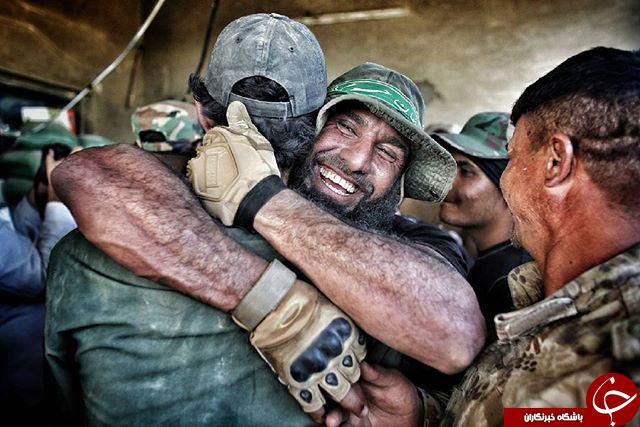 ابوعزرائیل با سربند مدافعان حرم+عکس