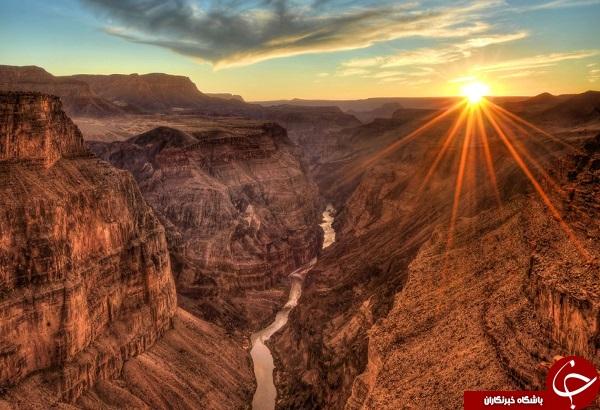 پارک ملی صخره ای در آریزونا +تصاویر