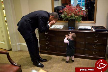 ژست های خاص اوباما در برابر دوربین عکاسی +14 عکس