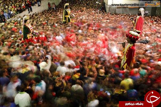 عکسی جالب از جشنواره قرون وسطی در اسپانیا