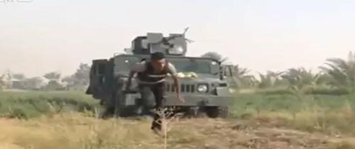 فیلم گریختن یک خبرنگار از کمین داعش
