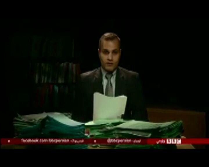 مرگ بر آمریکای خمینی گوش فلک را کر کرد/ بی بی سی فارسی این بار مست در گفت + فیلم