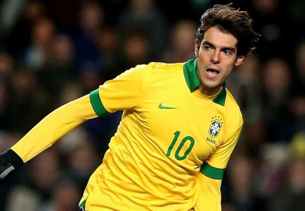 کاکا از تیم ملی برزیل خط خورد