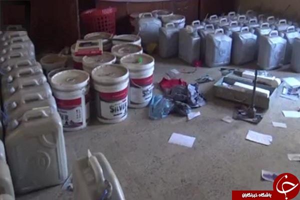 کارگاه بمب گذاری داعش در مدرسه دخترانه + فیلم و عکس