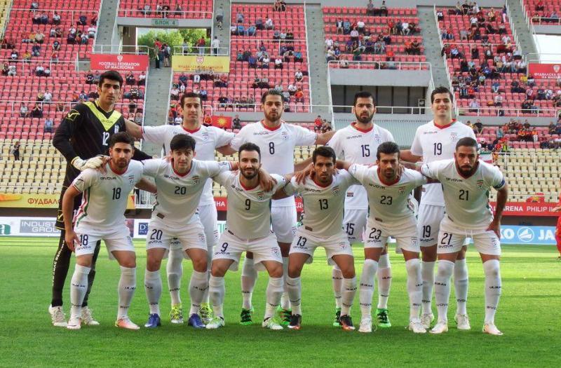 تیم ملی با هت تریک سردار مقدونیه را به آتش کشید