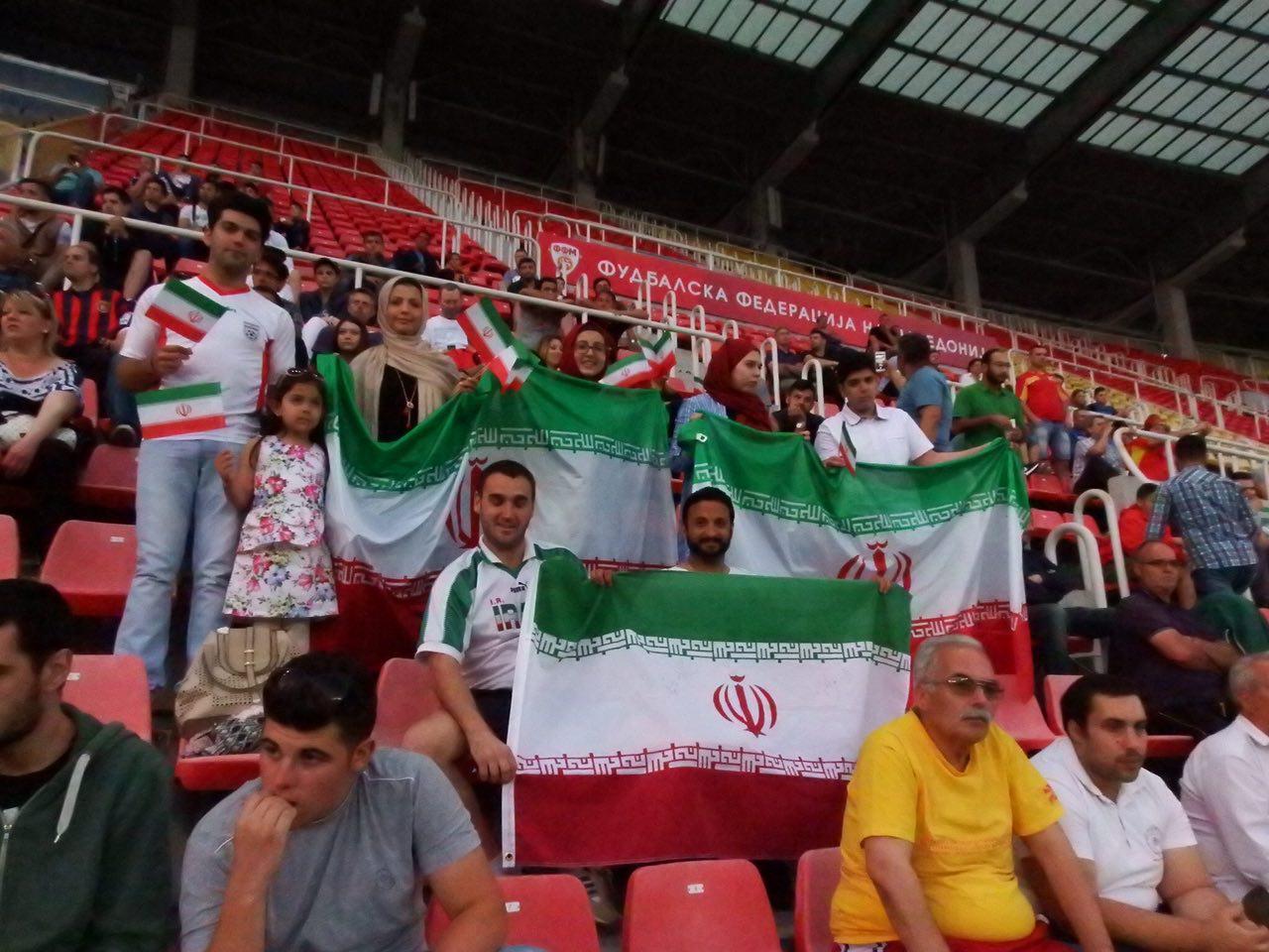 مقدونیه 1 - ایران 3 + تصاویر