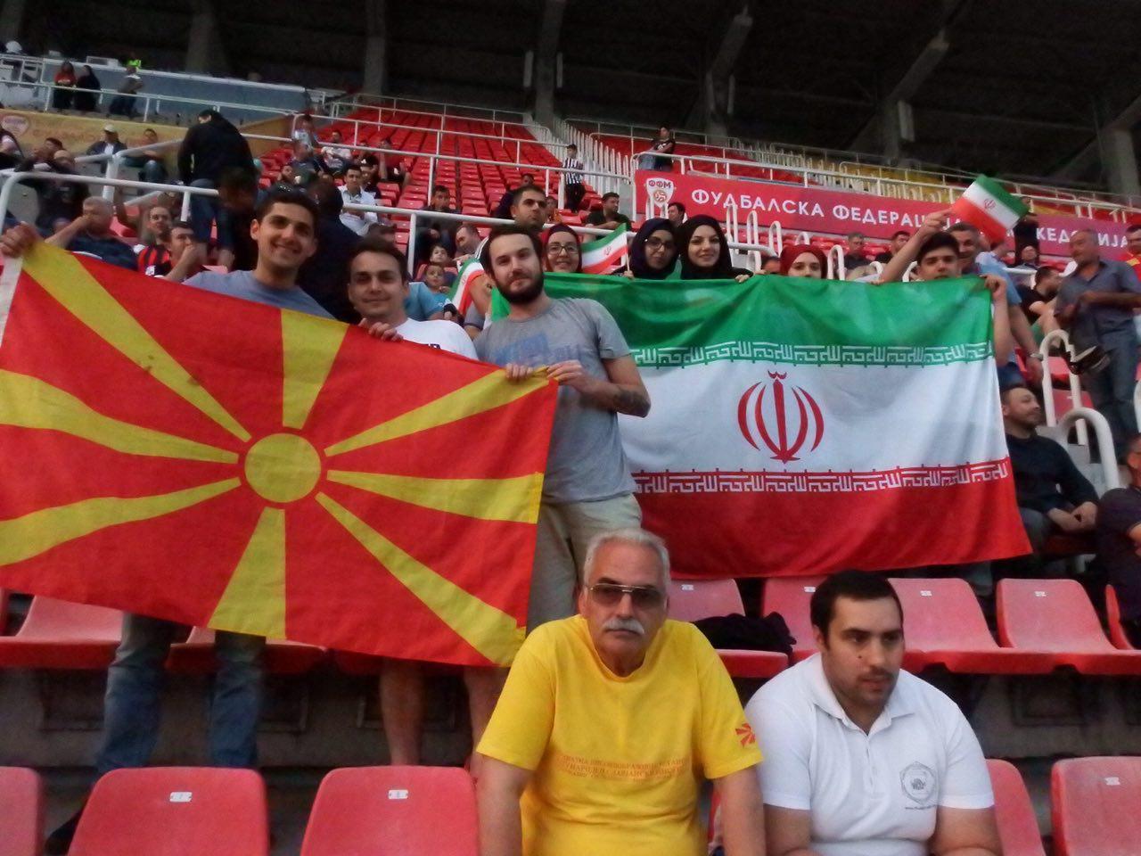 تصاویری از ورزشگاه شهر اسکوپیه
