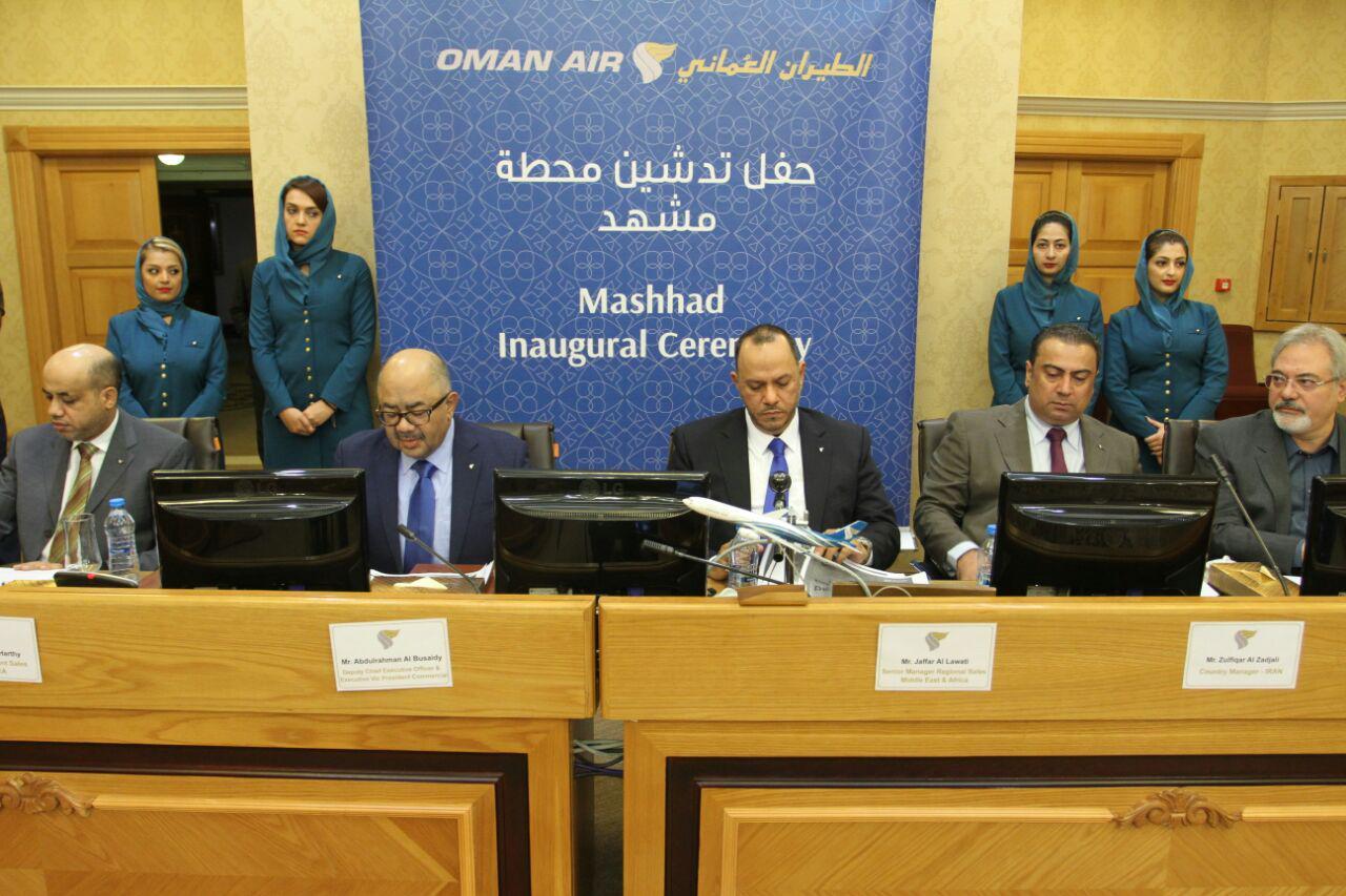 جا بجایی سالانه 120 هزار مسافر در مسیر مشهد – مسقط