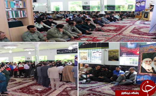 برگزاری مراسم ارتحال امام راحل درجای جای گیلان+تصاویر