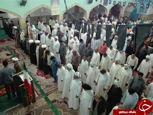 برگزاری مراسم سالگرد ارتحال امام خمینی (ره) در چوئبده + تصاویر