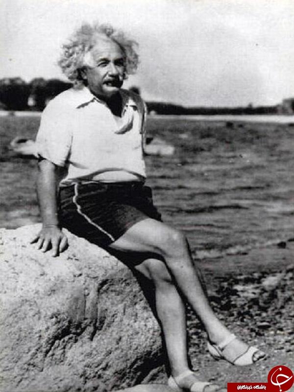 تصویر دیده نشده از آلبرت اینشتین