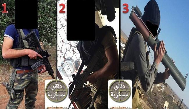 تسلیحات داعش ساخت کدام کشور است+عکس