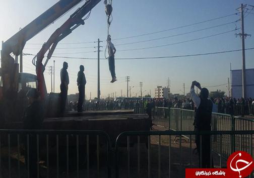 مرد ژلهای در شیراز اعدام شد + تصویر