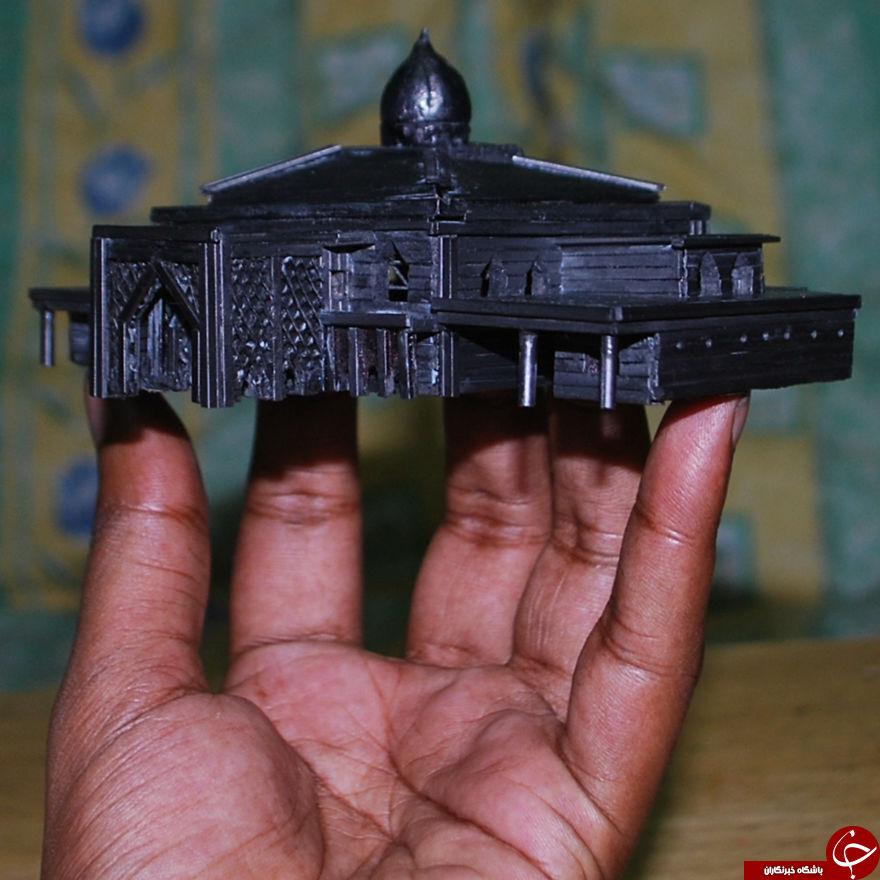 شگفت انگیزترین مسجد مینیاتوری جهان+تصاویر