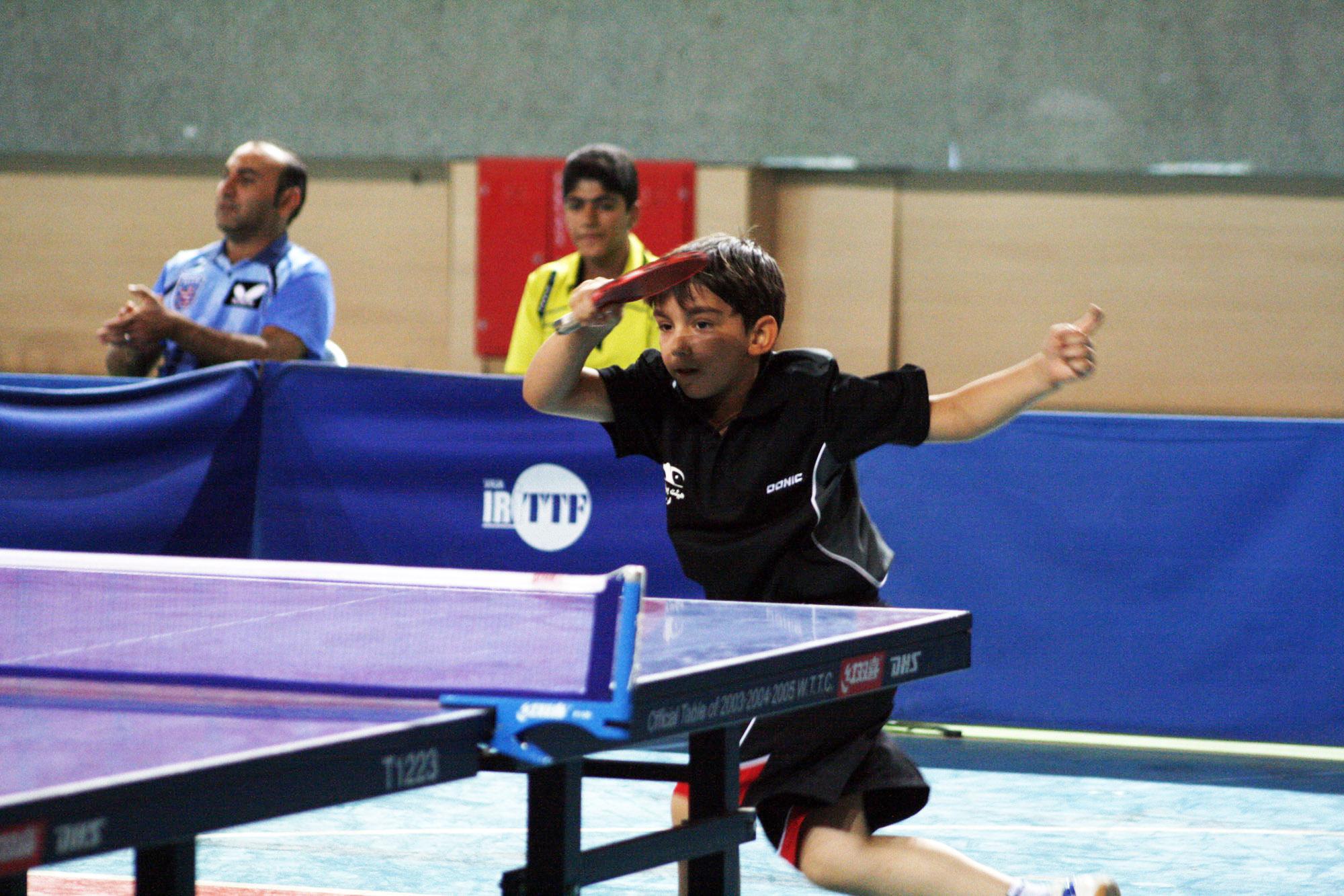 قهرمان تنیس روی میز جهان امشب راهی تهران می شود