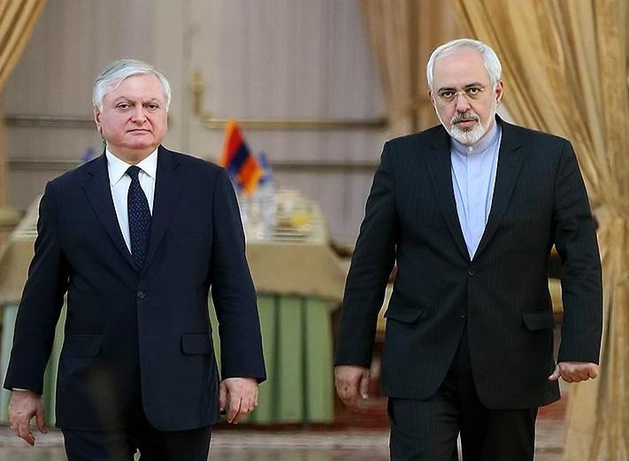 وزرای خارجه ایران و ارمنستان در تهران به گفتوگو نشستند